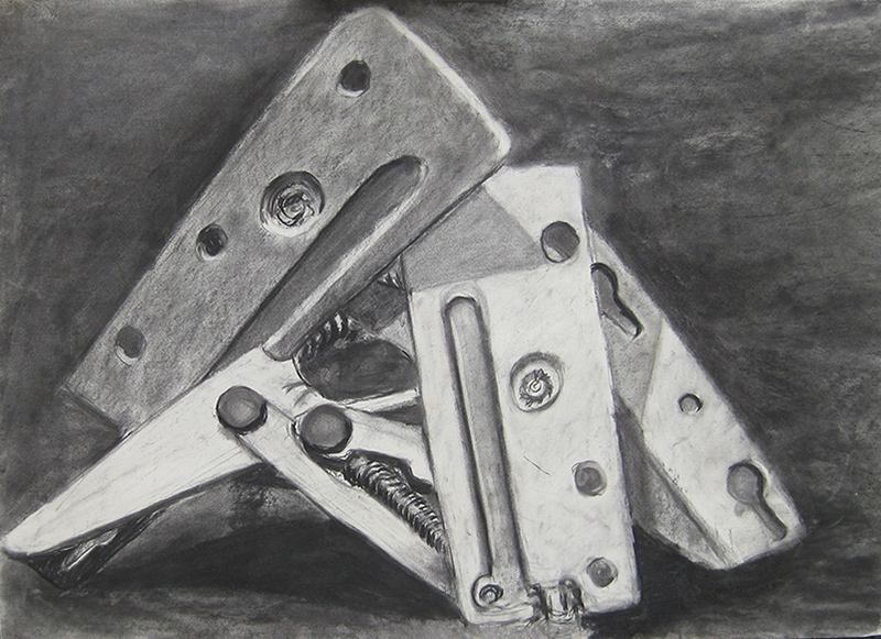 Charcoal drawing - A1