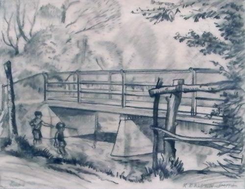 Burnt Bridge, Haslingfield, Cambridgeshire