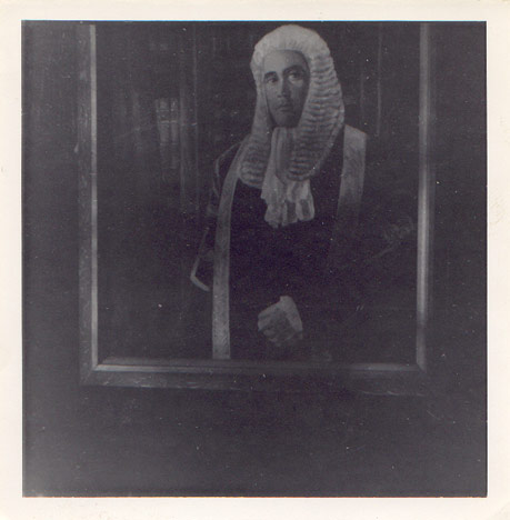 Portrait of a judge by Kenneth