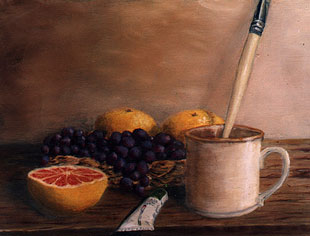 Still life - Oil on canvas