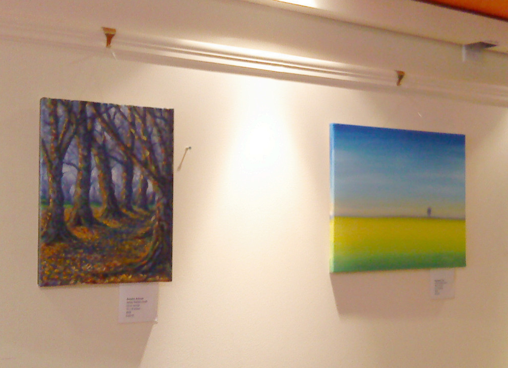 Two more fen paintings on display